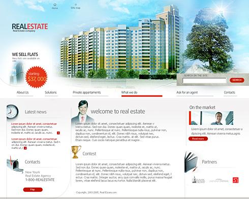 Создать сайт недвижимости