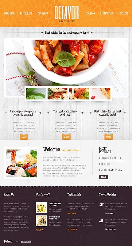 Дизайн для меню сайта